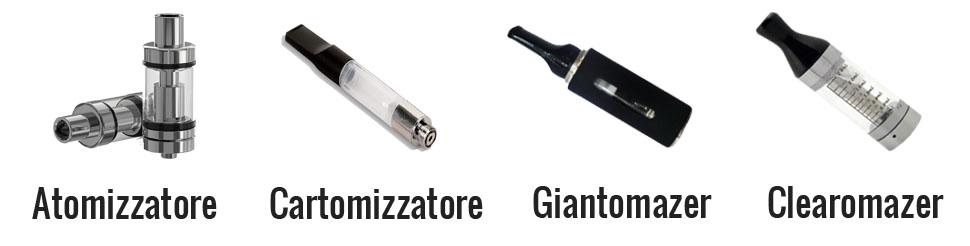 atomizzatore e cartomizzatore