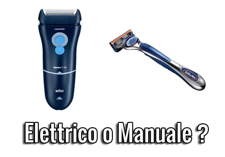 elettrico o manuale