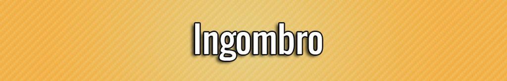 Ingombro