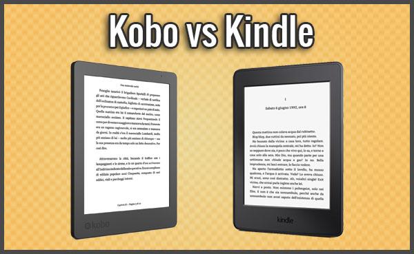b24e1a90be45dc Meglio Kindle o Kobo? Quale Ebook Reader Scegliere? (Luglio 2019)