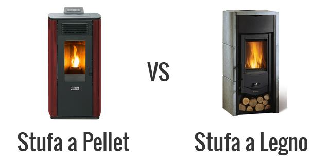 stufa a pellet vs legno