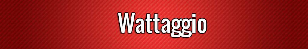 wattaggio