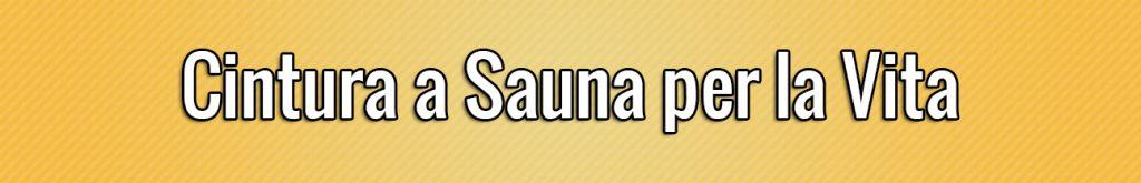 Cintura a Sauna per la Vita