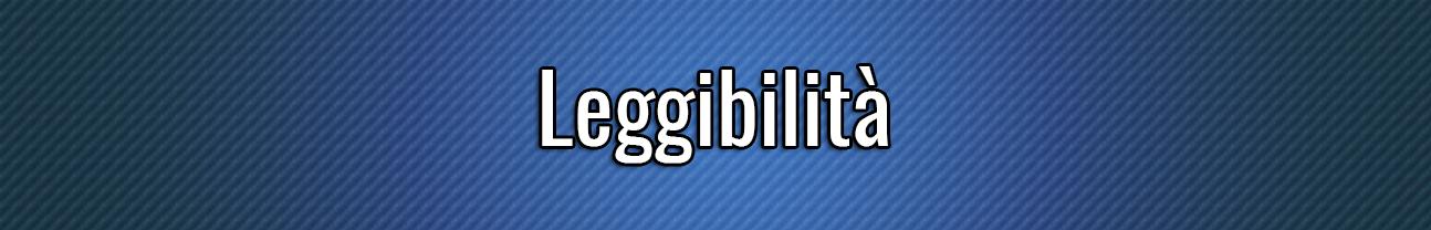 Leggibilità