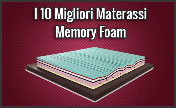 I 10 Migliori Materassi Memory Foam - Opinioni, Recensioni ...