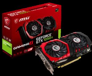 MSI GeForce GTX 1050Ti Gaming X