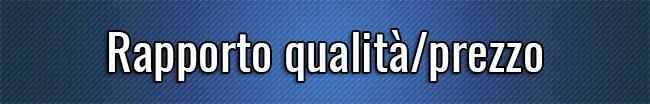 Rapporto qualità-prezzo
