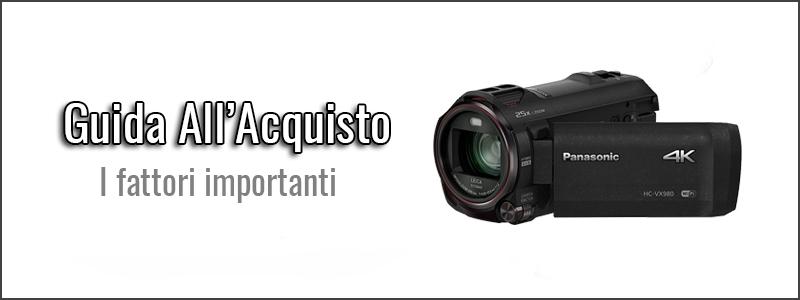 guida-all-acquisto-migliori videocamere 4K