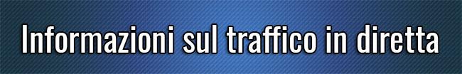 Informazioni sul traffico in diretta