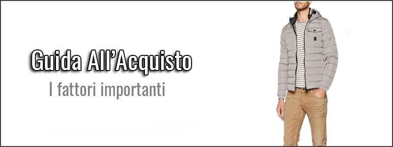 quality design 52a93 7130c I 5 Migliori Piumini / Giubbotti da Uomo (anche Leggeri ...