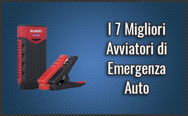 Avviatore Emergenza Portatile.I 7 Migliori Avviatore Di Emergenza Auto Booster