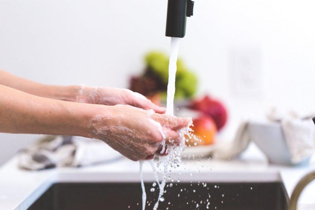 Il lavaggio a mano