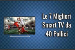 Qual è la Migliore Smart TV da 40 Pollici? – Anche full HD e 4K, Opinioni, Recensioni (Aprile 2019)