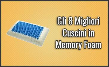 Guanciale Memory Foam Prezzo.Gli 8 Migliori Cuscini In Memory Foam Opinioni Recensioni Agos