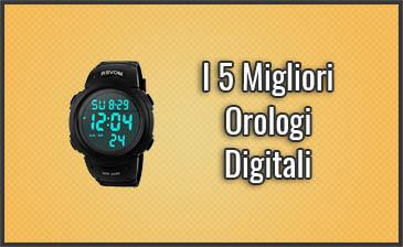 rivenditore di vendita 874a8 3f961 I 5 Migliori Orologi Digitali – Opinioni, Recensioni ...