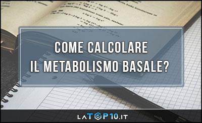 calcolatore del peso metabolico a riposoto