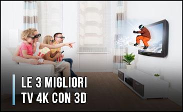Qual è la Migliore TV 4K con 3D? – Opinioni, Recensioni, Prezzi (Gennaio 2020)