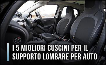 Qual è il miglior Cuscino per il Supporto Lombare per Auto? - Opinioni, Recensioni, Prezzi (Gennaio 2020)