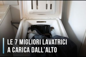 Qual è la Migliore Lavatrice a Carica dall'Alto? - Recensioni, Opinioni, Prezzi (Gennaio 2020)