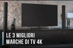 Qual è la Migliore Marca TV 4K? – Opinioni, Recensioni, Prezzi (Gennaio 2020)