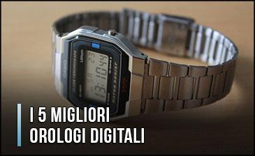 Il Miglior Orologio Digitale da Polso (per Uomo e Donna)