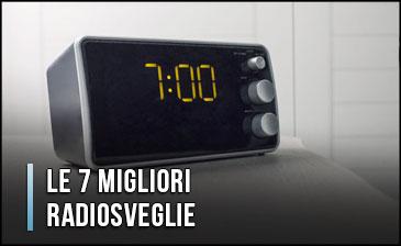 Sveglia Digitale Da Comodino Elettrica.Le 7 Migliori Radiosveglie Anche Da Comodino Ottobre 2020