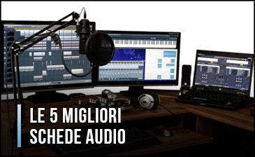 Qual è la Migliore Scheda Audio? - Esterne o Interne, Opinioni, Recensioni (Gennaio 2020)