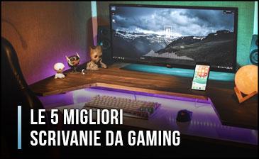 Qual è la Migliore Scrivania da Gaming per PC? - Opinioni, Recensioni, Prezzi (Gennaio 2020)
