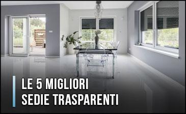 Sedie Trasparenti: ideali per la casa moderna, ma occhio al