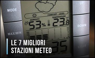 Stazione Meteo Metereologica Barometrica Vento Sensore Esterno Previsioni