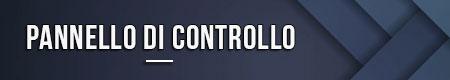 Pannello di controllo