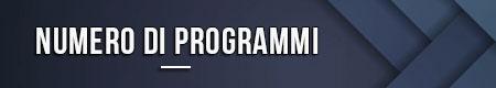 Numero di programmi