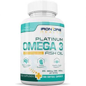 Iron Ore Health Platinum Omega 3
