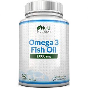 Nu U Nutrition Olio di pesce Omega 3